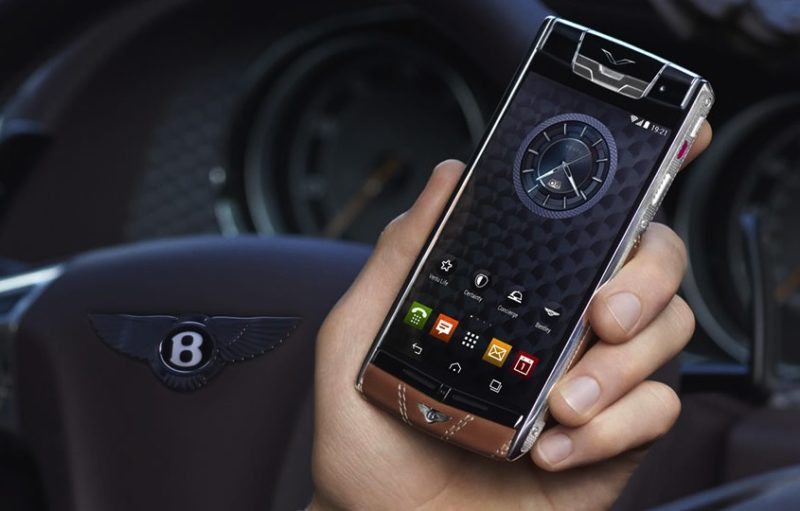 Here are Bentley-the Cell Phone.Price: Us $ 93,000.